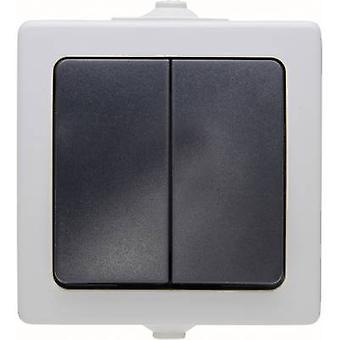 Kopp Series switch Nautic Grey 565556008