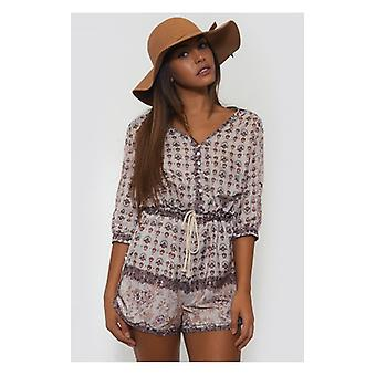 The Fashion Bible Maisie Boho Playsuit