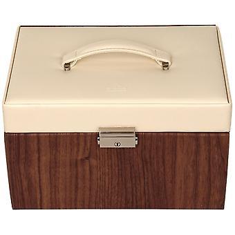 Sacher jewelry case jewelry box NORDIC STYLE beige wood-look Castle