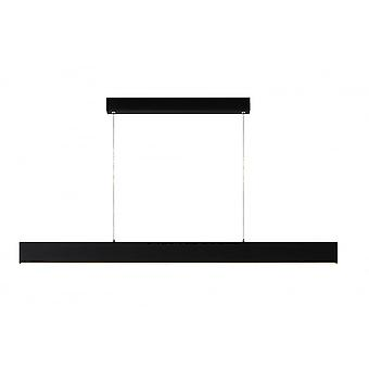 Lucide CONNOR 50W Dimmable LED Linear Black Island Pendant