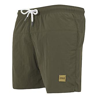 URBAN CLASSICS men's swim shorts swimwear olive