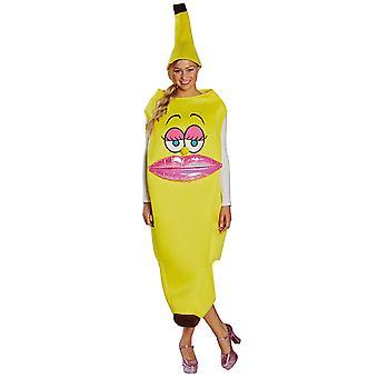 Banan dame damer kostume Carnival Lady karneval