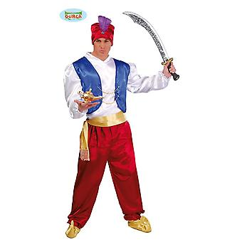 Maharajah Indian Orient Aladdin costume mens one size