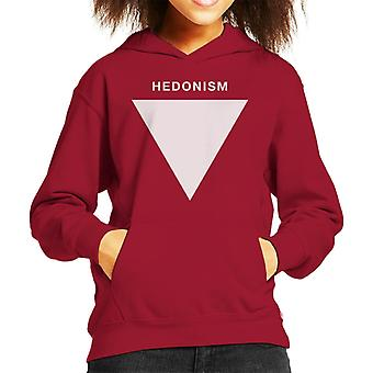 Hedonism Philosophy Symbol Kid's Hooded Sweatshirt