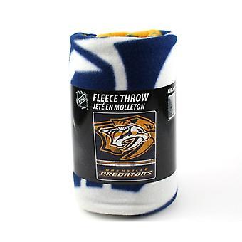Nashville Predators NHL nordvest Fleece Throw
