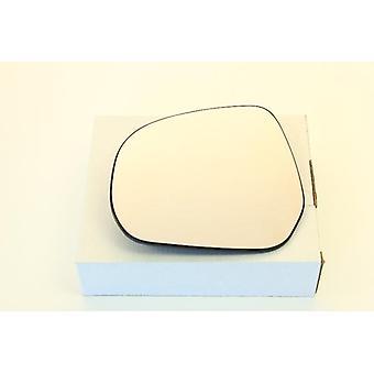 Left Mirror Glass (heated) & Holder for SUZUKI SPLASH 2008-2015