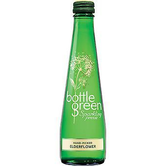 Flaschengrün Eldeflower Sekt Pressé