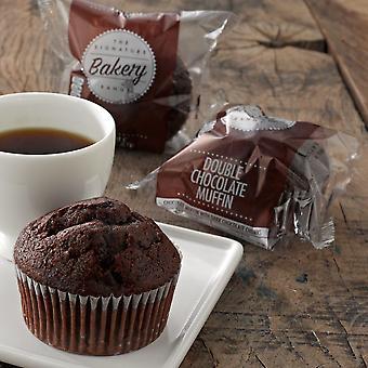 Kara gefroren einzeln verpackt Doppel-Schokoladen-Muffins