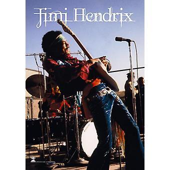 Jimi Hendrix - Stage -Flag