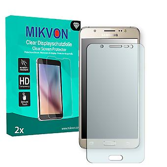 Samsung Galaxy J5 (2016) Screen Protector - Mikvon Clear (Retail Package with accessories)