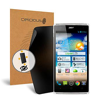 Filtro di Celicious Privacy oltre 4 vie Anti-Spy Screen Protector Film compatibile con Acer Liquid Z5