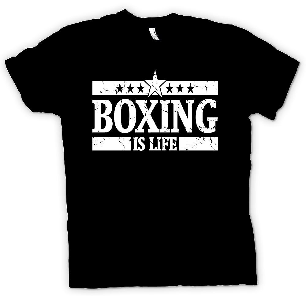 Kids T-shirt - Boxing Is Life - Cool Fighting