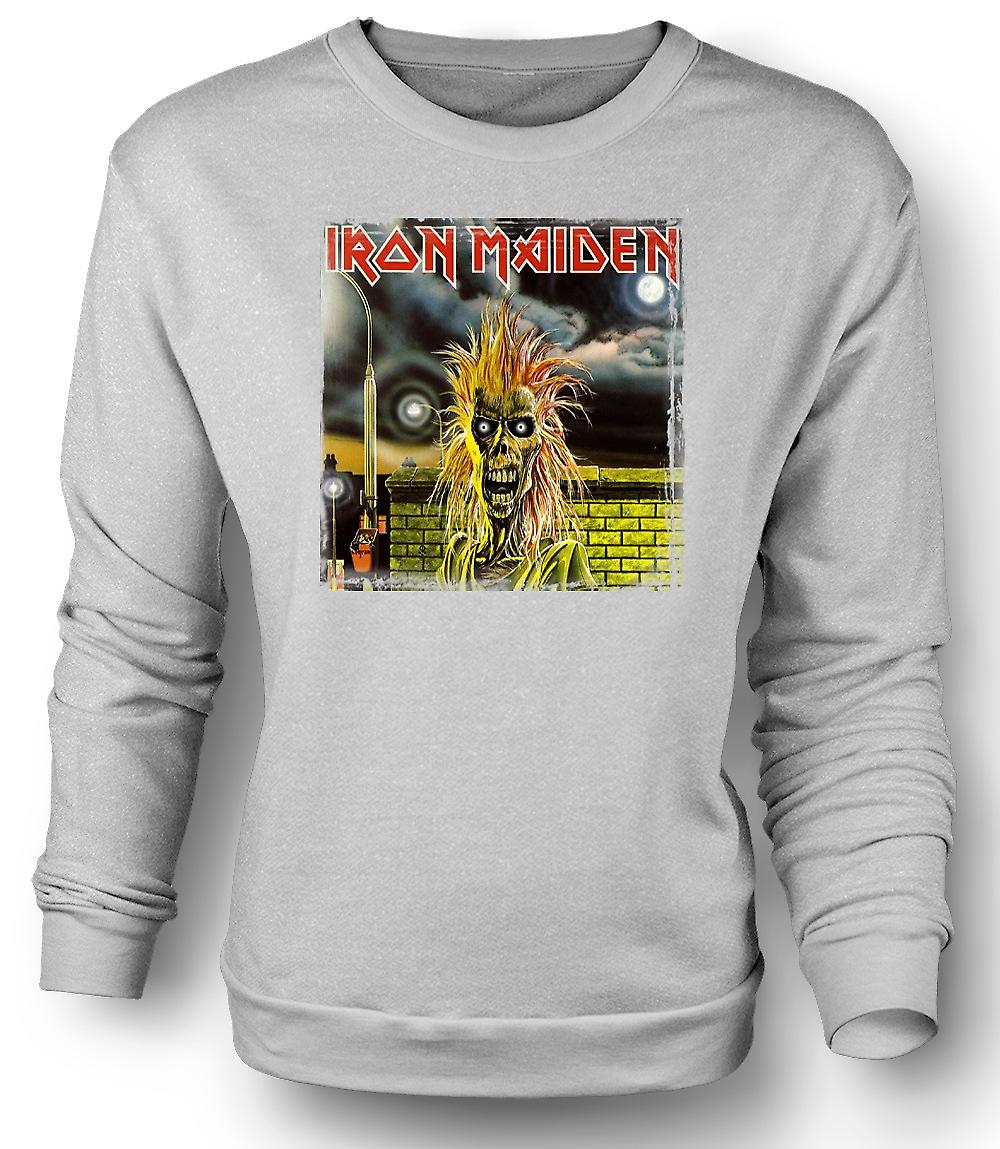 Mens Sweatshirt Iron Maiden - skivomslag