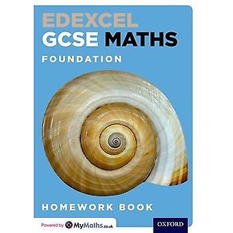 GCSE Edexcel Maths Fundación tarea libro