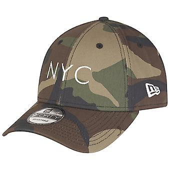 New era Cap - 9Forty NYC LOGO wood camo