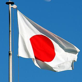Stor Japan flagga med ringar 90x150cm