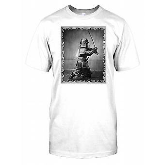 Japanese Samurai With Sword Kids T Shirt