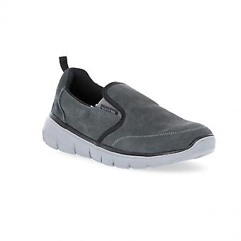 Trespass Mens Enrico Slip On Lightweight Loafers Trainers