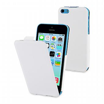 Founded iFlip + Screen Protector Apple iPhone 5 c Muvit