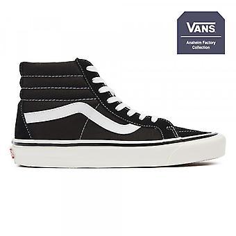 Vans Anaheim Factory SK8-Hi 38 DX Black / True White Trainers