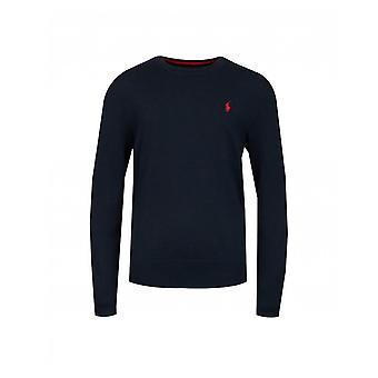 Polo Ralph Lauren Kinderbekleidung Pima Baumwolle Logo Rundhals stricken