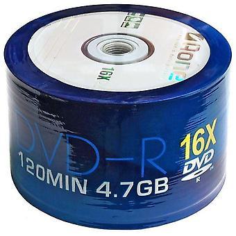 DVD-R AOne Logo Spindel/Cake Box 50 Rohlinge (16 X schreiben) beschreibbare DVDs