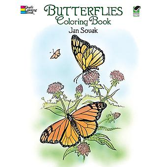 Dover Publications Butterflies Coloring Book Dov 27335