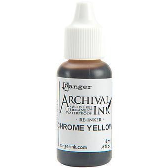 Reinker d'archivage.5 oz jaune de Chrome Arr5 30881