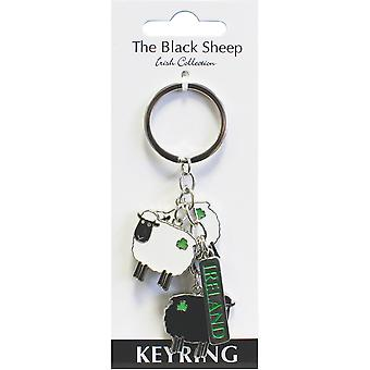 The Black Sheep Charm Key Ring 3452