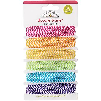 Doodle Twine Assortment Pack Bright Dtw Ast 2983