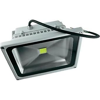 LED outdoor floodlight 20 W Warm white DioDor DIO-FL20N-W White