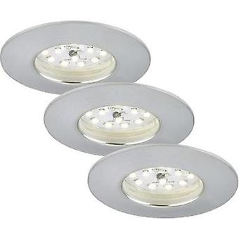 LED bathroom flush mount light 3-piece set 15 W Warm white Brilo