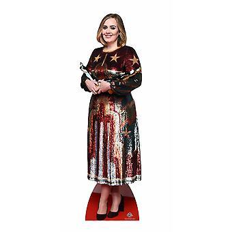 Adele Lifesize pap påklædningsdukke / Standee / står