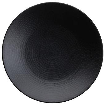 Avet Dessert Plate 21 Cm Black Set of 6