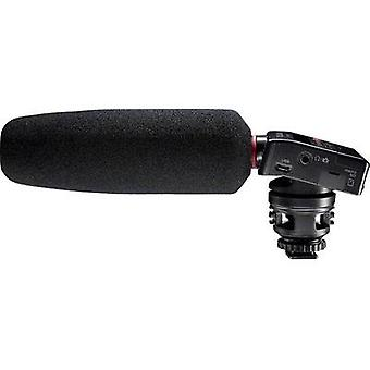 Clip Camera microphone Tascam Transfer type:Direct incl. pop filter, Hot shoe mount