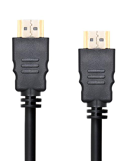2 Metre Gold HDMI to HDMI High Speed Cable