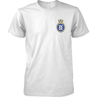 HMS eifrig - ausgemusterte Schiff der königlichen Marine T-Shirt Farbe