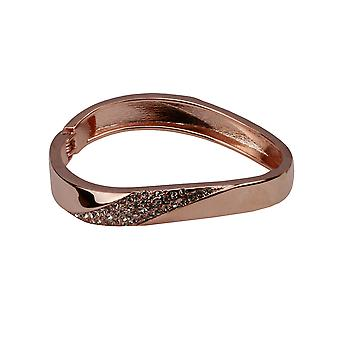 Nicole bejewelled rose gold bangle