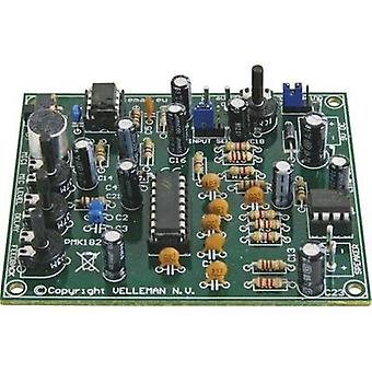 Digital reverb Assembly kit Velleman MK182 9 Vdc, 12 Vdc