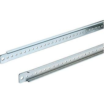 Rittal 4696.000 TS Mounting Board Sheet steel, galvanised, chrome-plated