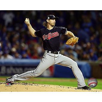 Josh Tomlin Game 3 of the 2016 World Series Photo Print (8 x 10)