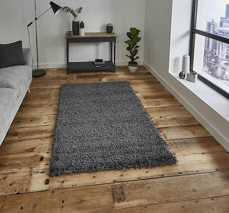 vista plaine 2236 dark grey rectangle tapis plain presque plaine tapis fruugo. Black Bedroom Furniture Sets. Home Design Ideas