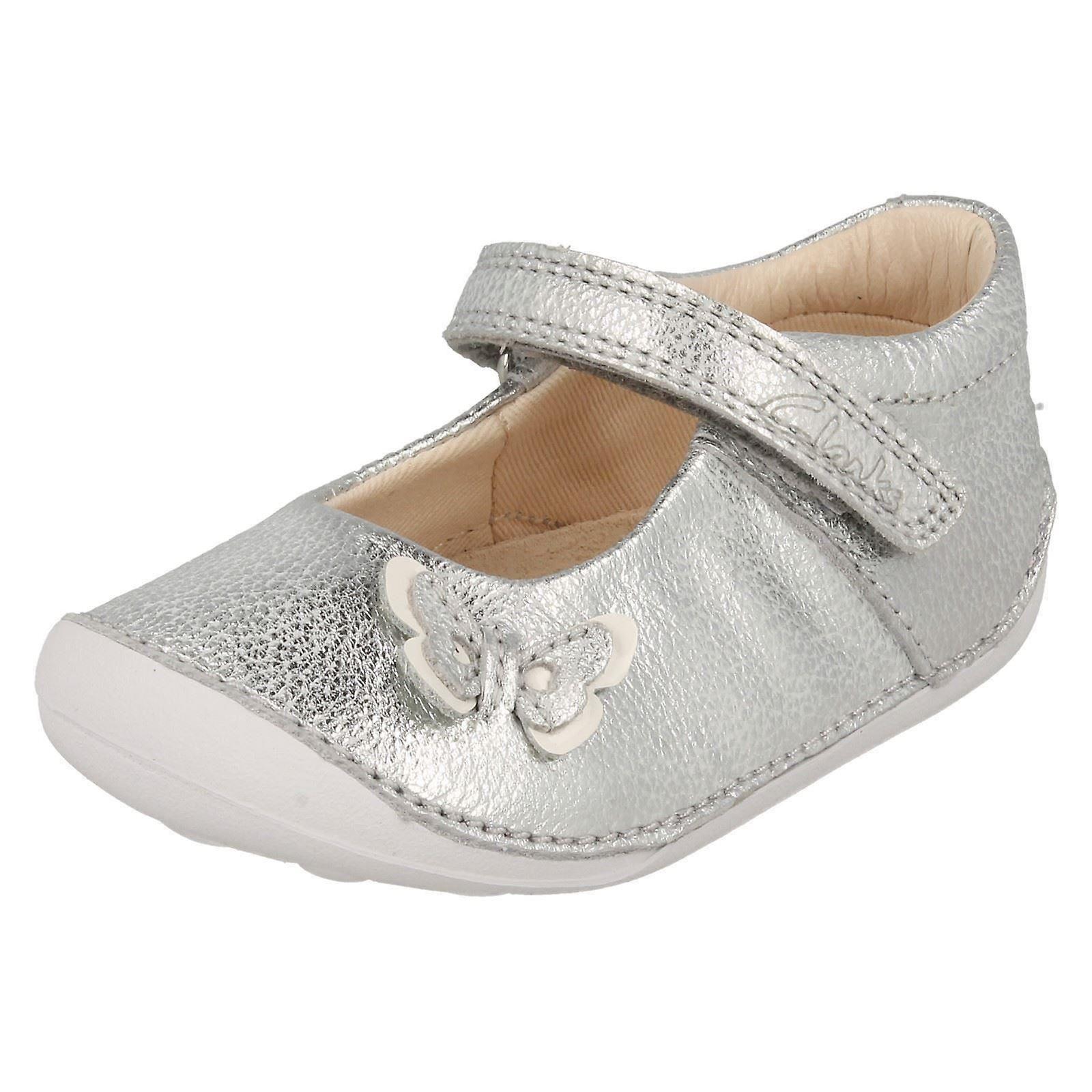 Infant Girls Clarks First Cruiser Shoes Little Mia- Modern -Gentlemen/Ladies And Elegant In Fashion -Gentlemen/Ladies Modern e5eb24