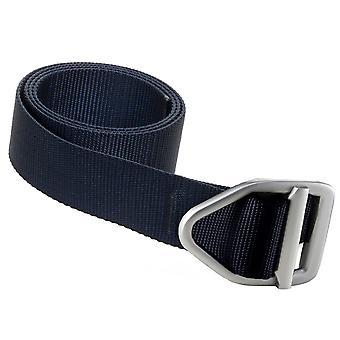 Bison Designs letzte Chance leichte Rotguss Buckle Belt - Navy
