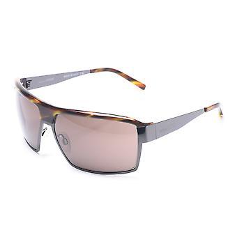 Gianfranco Ferre kvinders skjold solbriller sort