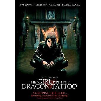Pigen med Dragon Tattoo [DVD] USA importerer