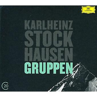 K. Stockhausen - Stockhausen: Gruppen; Kurt G: Grabstein F R Stephan; Stele [CD] USA import