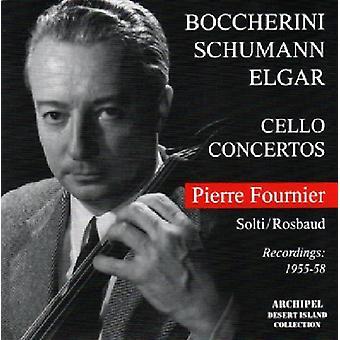 Schumann / Fournier - Cello Con Boccerinii-Elgar [CD] USA import