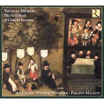 M. Morley - Thomas Morley: Den første bog af Consort lektioner [CD] USA import