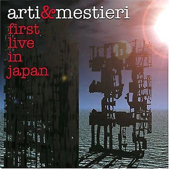 Arti & Mestieri - første Live in Japan [CD] USA importerer